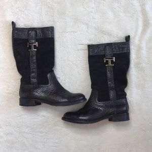 Tory Burch (Very Well Loved) Brown Riding Boots